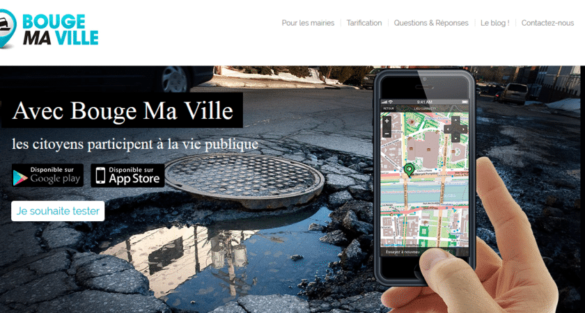 Bouge Ma Ville: l'application mobile pour mairie