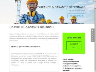Professionnels de l'assurance décennale