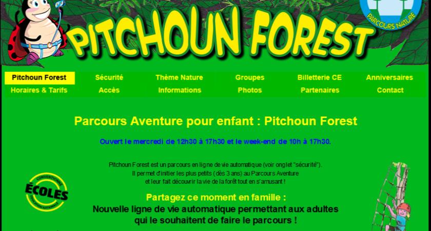 Pitchoun Forest : l'accrobranche pour les enfants