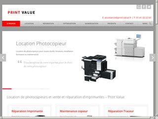 Print Value: réparation d'imprimante
