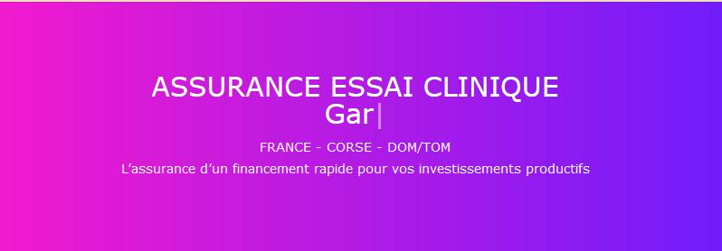 Les pros de l'assurance essai clinique