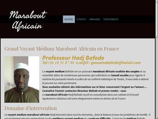 Mr Hadj Bafode est un grand voyant medium et africain