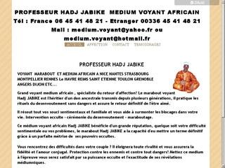 Médium Hadj Jabike: marabout compétent en France