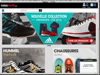 Casal-handball.com : le leader en ligne de l'équipement de handball