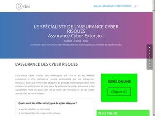 Tout savoir sur l'assurance cyber risque
