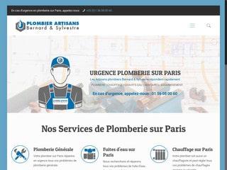 Entreprise de plomberie à Paris
