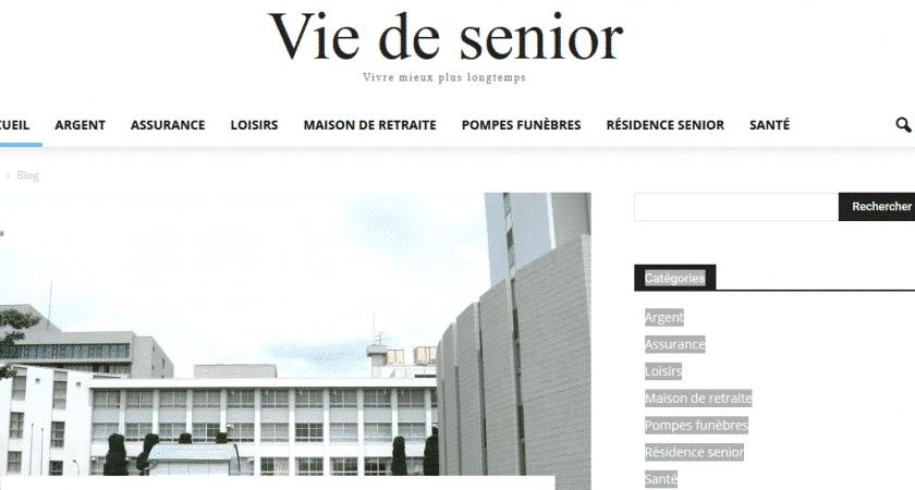 Vie de senior: plateforme d'informations pratiques