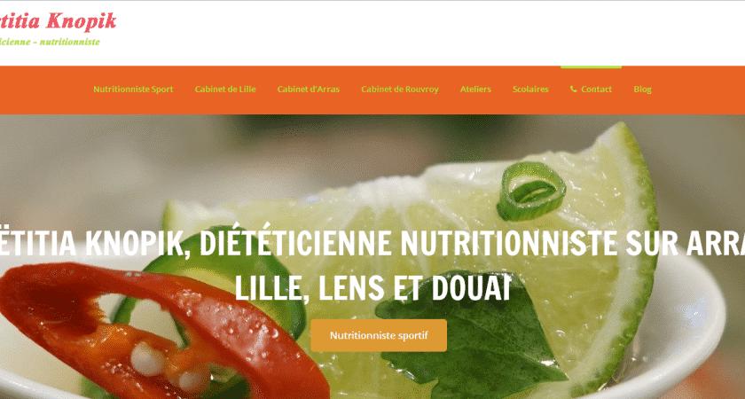 Laetitia Knopik, diététicienne-nutritionniste