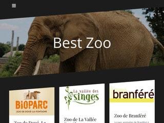 Les meilleurs zoos de France