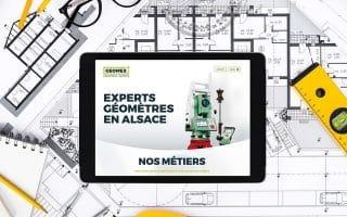 Quelle stratégie sur internet pour un géomètre-expert? Zoom sur le site web GEOMEX