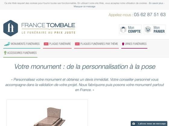France Tombale, entreprise en ligne compétente dans les pompes funèbres