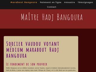 Hadj Bangoura: marabout en Corse