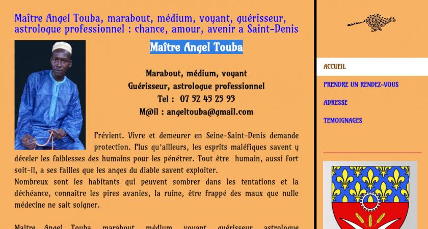 Maître Angel Touba : marabout voyant africain