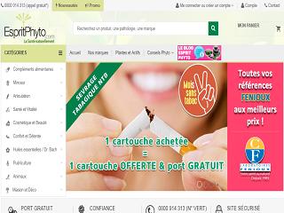 EspritPhyto : votre boutique de santé naturelle
