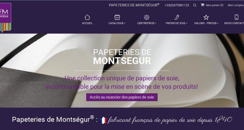 Papeteries Montségur, fabricant de papiers de soie en France