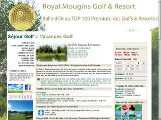 Découvrez le parcours de golf de Beaune