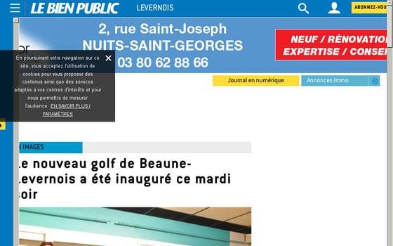 Découvrez le golf de Beaune-Levernois