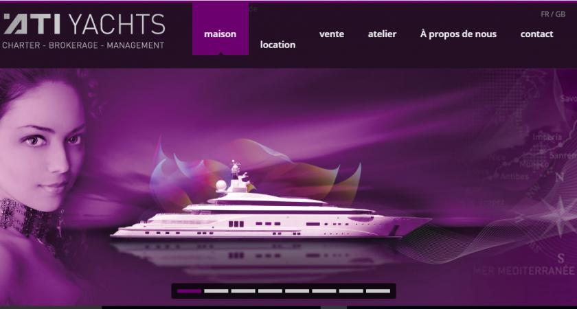 La vente et la location de yacht de luxe