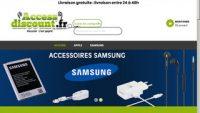 Access discount : vente d'accessoires de téléphone pas chers