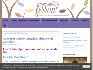Informations sur le guide spirituel