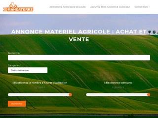 Site d'annonces pour matériel agricole d'occasion
