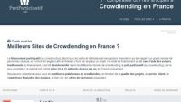 Pretparticipatif.info, comparatif de sites de Crowdlending