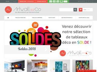 Artwall and Co : vente de tableaux design