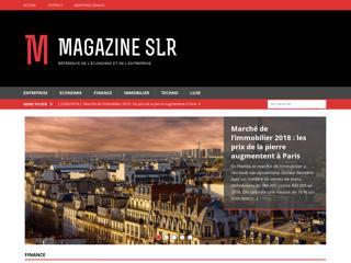 Magazine SLR : l'actualité des entreprises et de la finance