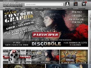 Discobole: boutique gothique pour homme et femme