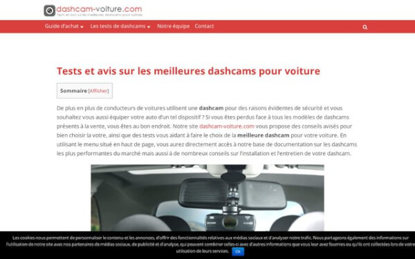 Le guide d'achat de la dashcam