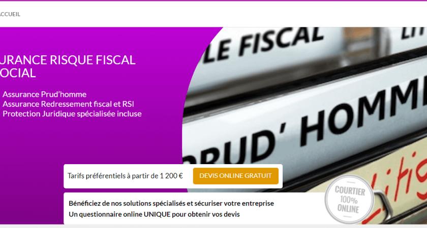 Assurance risque fiscal et social