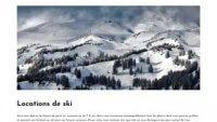 Le guide pour la location de ski