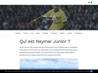 Biographie et vie privée de Neymar