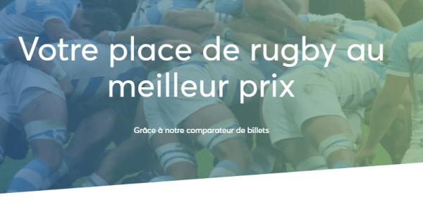 Billet de match de rugby au meilleur prix