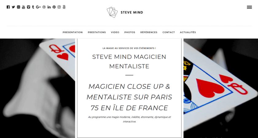 Steve Mind fait la promotion de votre entreprise grâce à ses tours de magie