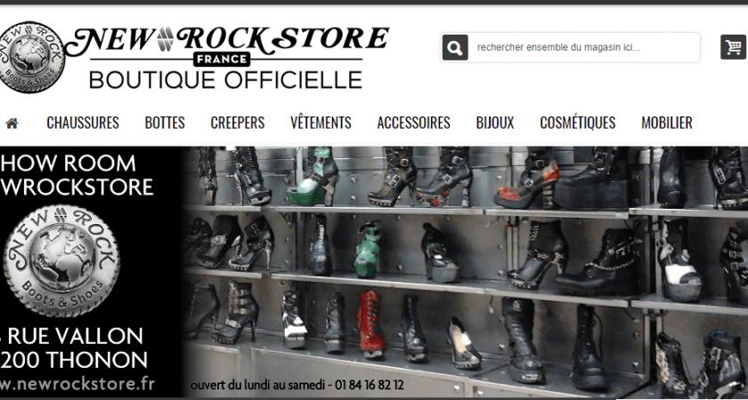 Vêtements et accessoires de Rock