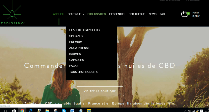 Entrer en possession de l'huile de CBD premium en France