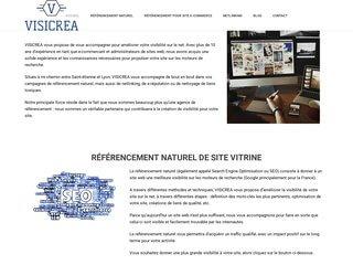Visicrea, structure de référencement naturel