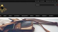 Vente en ligne d'accessoires de luxe de grandes marques