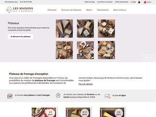 Commandez un plateau de fromage en ligne