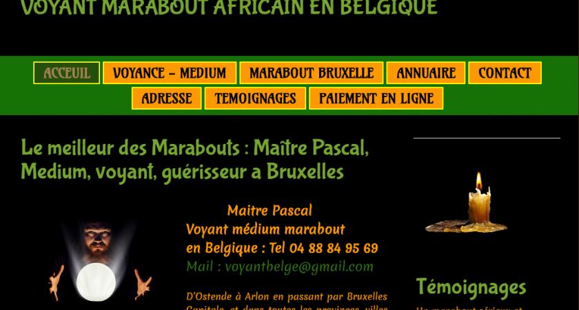Maître Pascal : marabout africain en Belgique