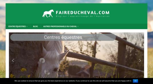 Faire du cheval – Blog équitation et annuaire équestre