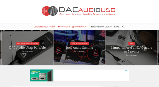 Guide sur le digital audio converter