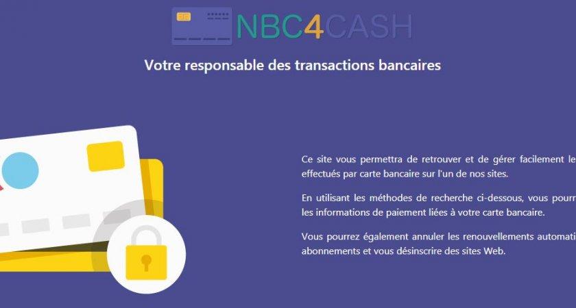 Votre responsable des transactions bancaires