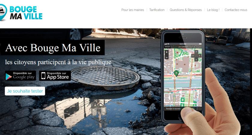 Bouge Ma Ville: l'application mobile pour mairie