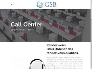 GSB centre d'appel Maroc