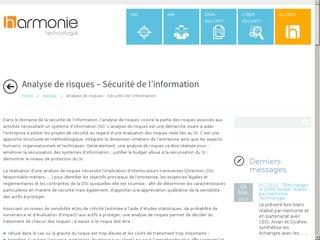 Sécurité de l'information en entreprise