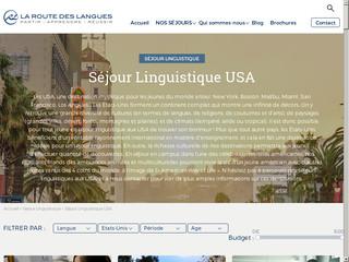 Séjour linguistique aux États-Unis
