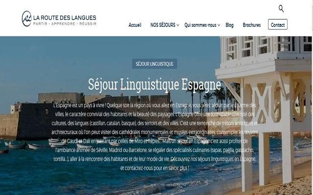 laroutedeslangues: séjour linguistique en Espagne