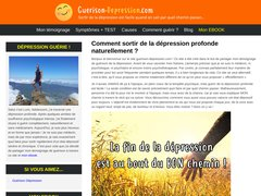 La dépression et les moyens d'en guérir naturellement